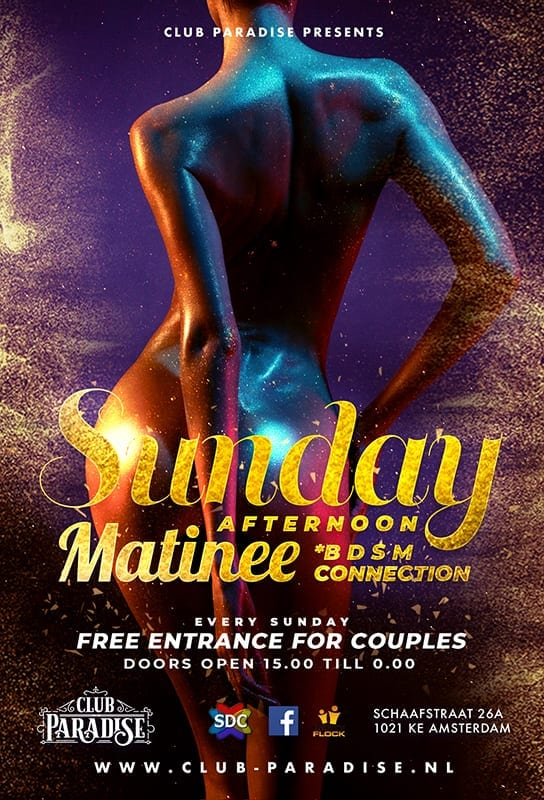 Sunday matinee Club Paradise